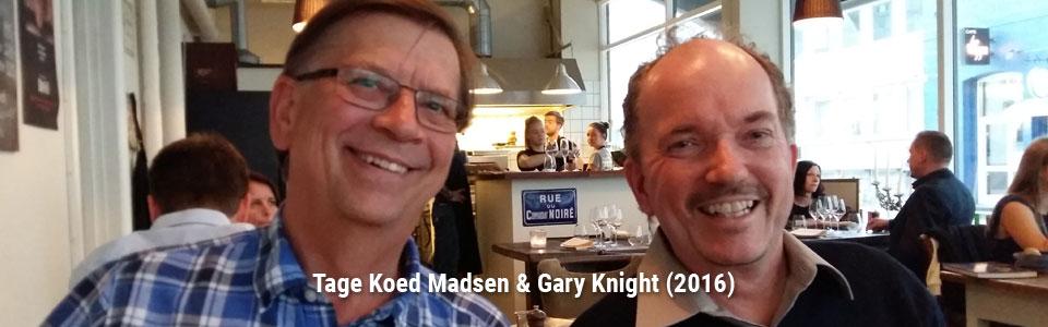 Tage Koed Madsen & Gary Knight (2016)